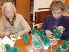 クリスマス飾り製作を楽しみました2