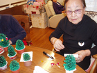 クリスマス飾り製作を楽しみました3