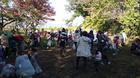 秋葉山古墳の大清掃に参加(介護課より)02